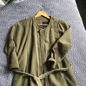 madewell stitch-edge duster jacket
